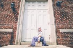 Summer Breeze print by That Hijabi | Skirt: Kotyur | Clutch: Jannahnaima | Jewelry: Emme Kay | Model/Blogger: Xeenah (xeenah.com) | Makeup by Zeba | Photography: Alica Kwoka